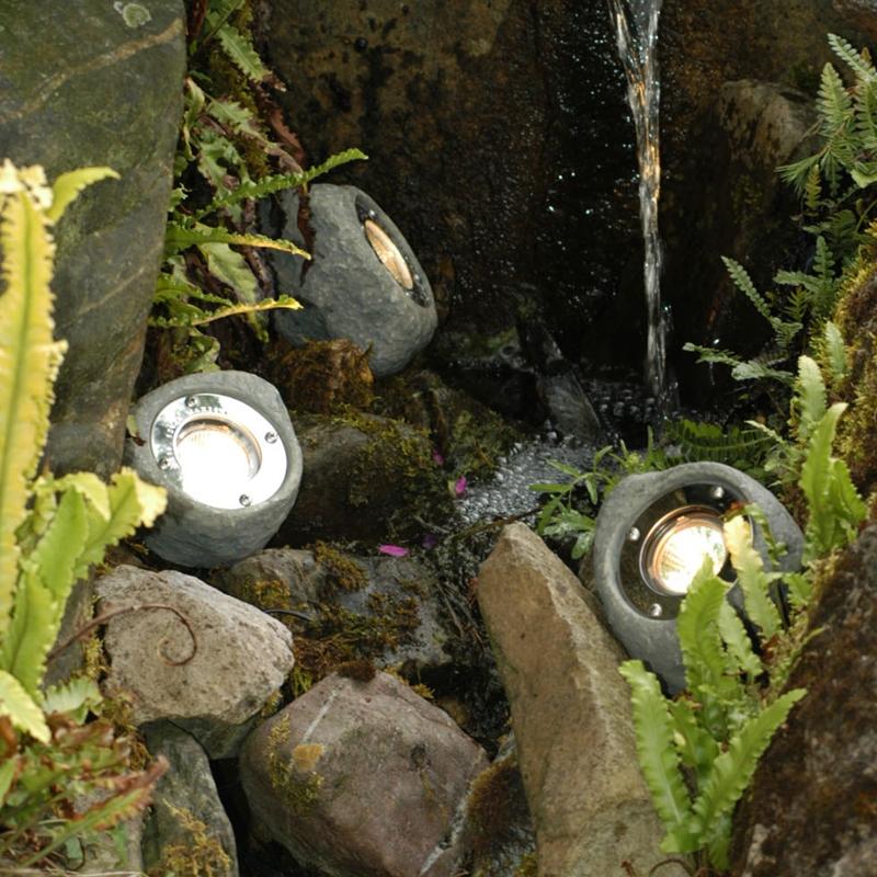 Techmar Plug and Play -  Lapis Stone Garden Light