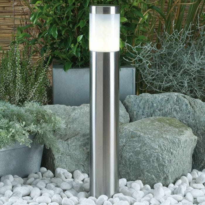 Techmar Plug and Play Albus Warm White LED Outdoor Post Light