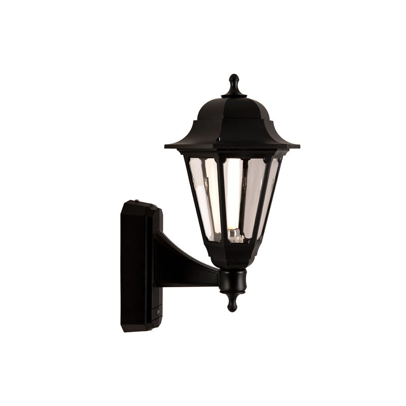 sale on asd coach outdoor lantern wall light with dusk to. Black Bedroom Furniture Sets. Home Design Ideas