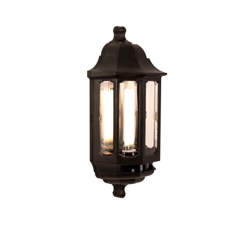 SALE On ASD Lighting Coach Low Energy Half Lantern Outdoor Wall Light