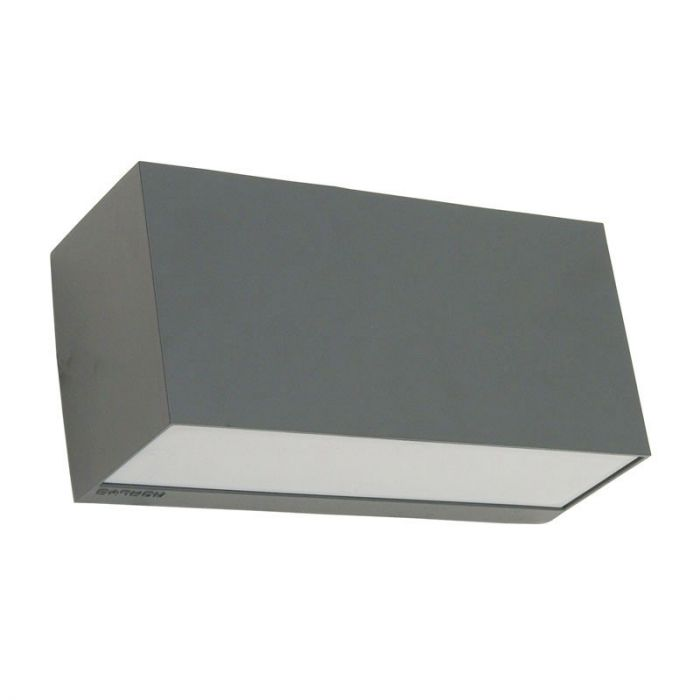 Norlys Asker Twin Outdoor Wall Light Graphite