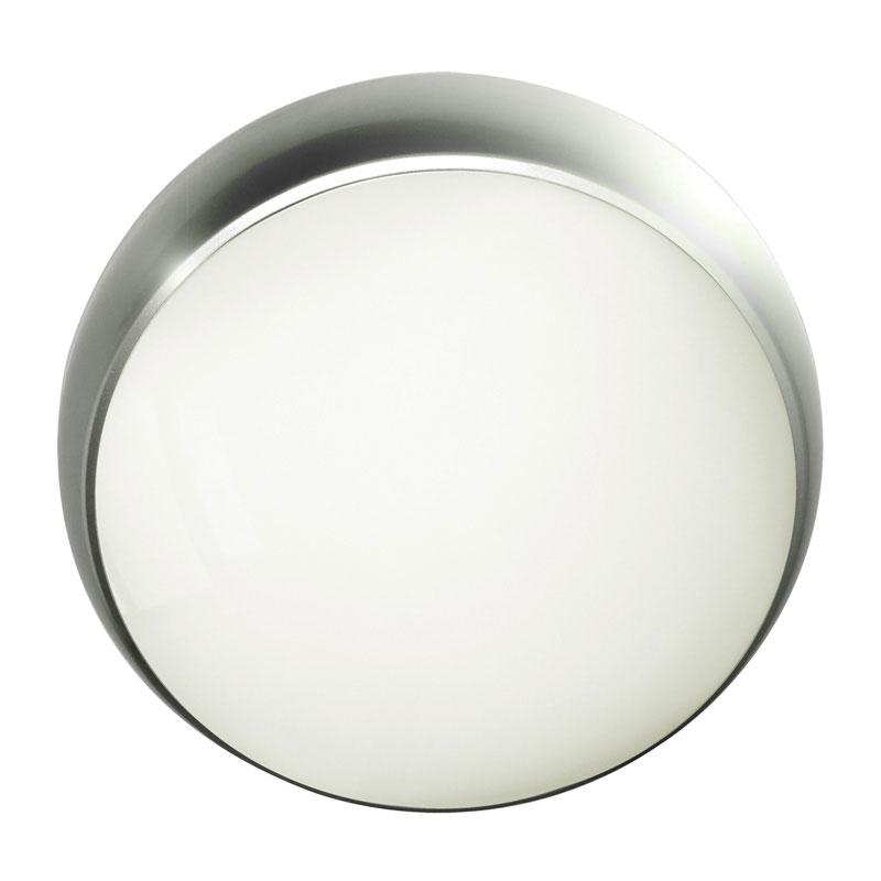 Eterna Carina Warm White LED Flush Light with Microwave Movement Sensor Chrome