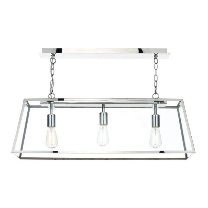 lighting academy lyco bar pendant stainless steel light