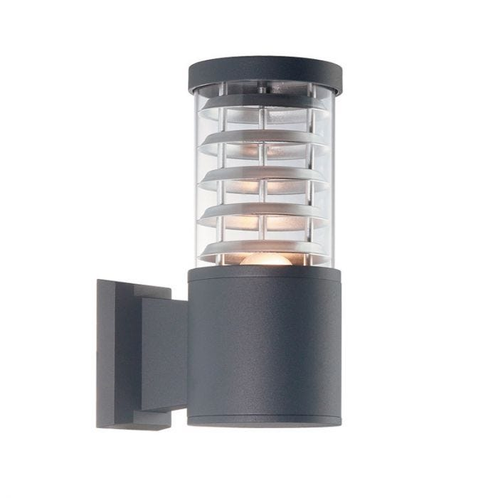 Tronco Outdoor Wall Light - Anthracite Search Lighting UK