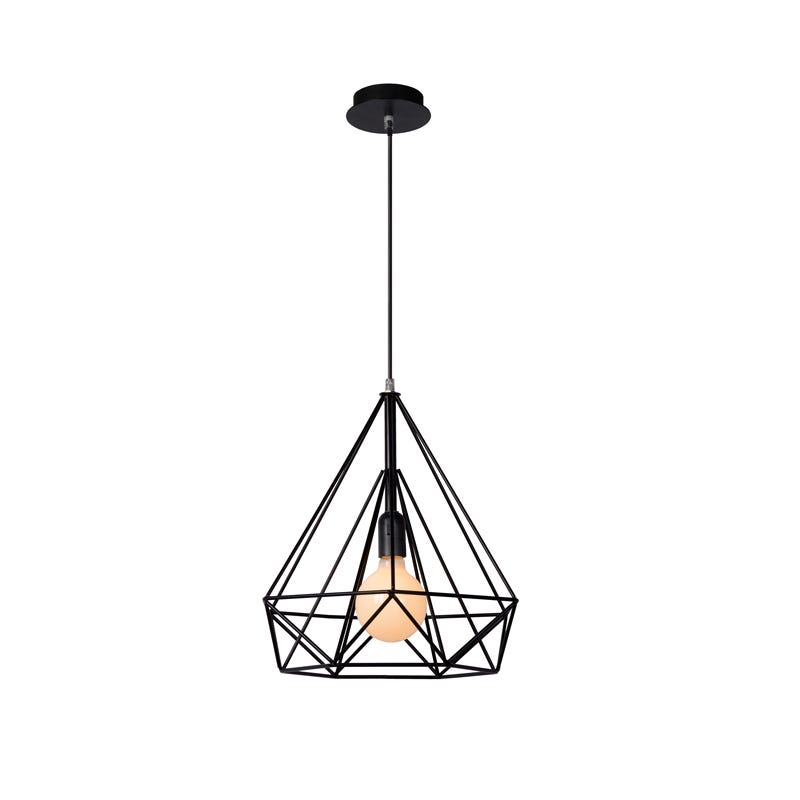 Lucide Ricky Ceiling Pendant Light - Black