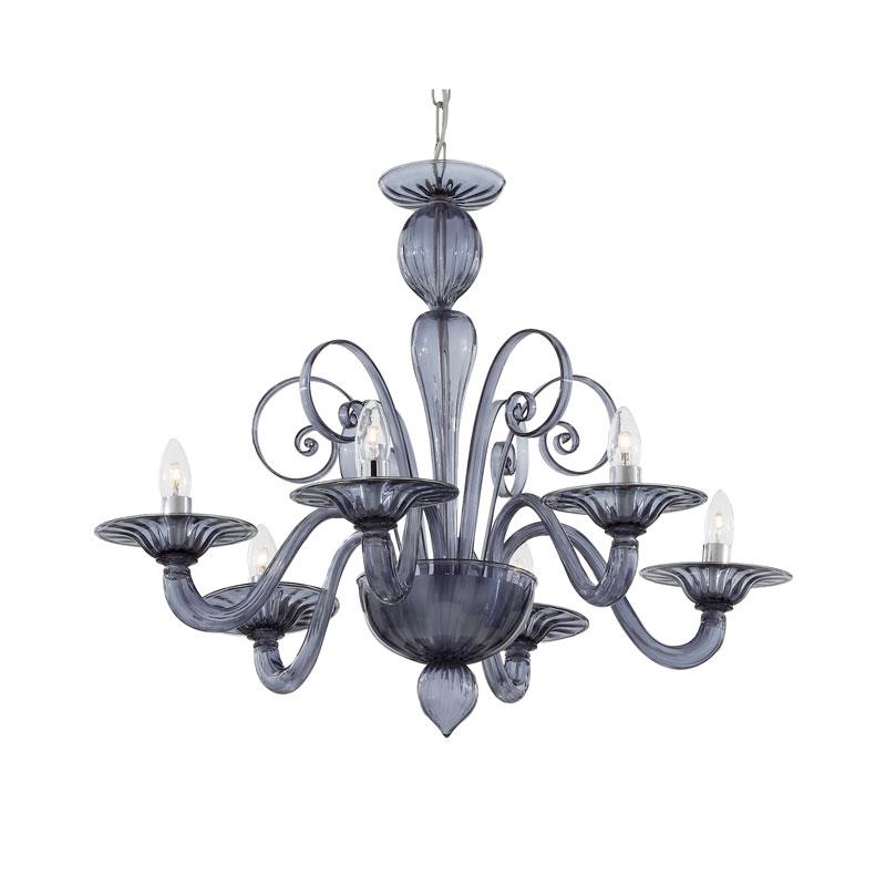 Armani 6 Light Large Chandelier Ceiling Light