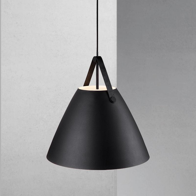 Nordlux Strap 48 Ceiling Pendant Light Black
