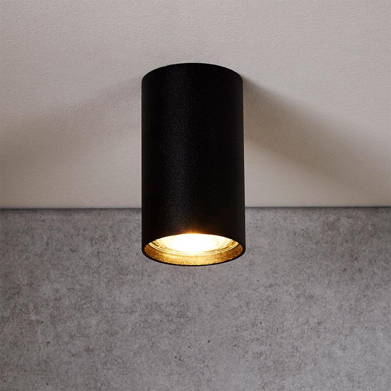 Edit Eye Ceiling Spotlight -  Black