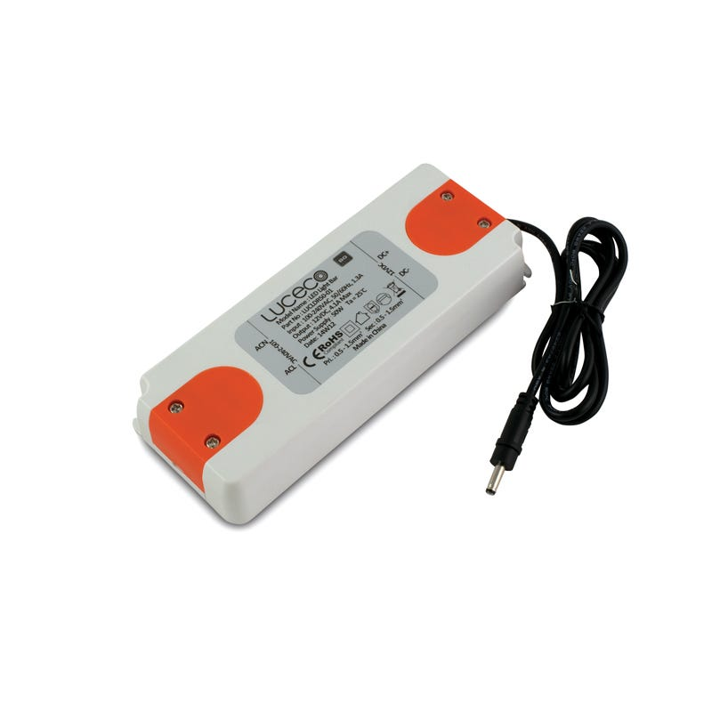 Luceco 50W Remote Driver for LED Under Cabinet Strip Lights