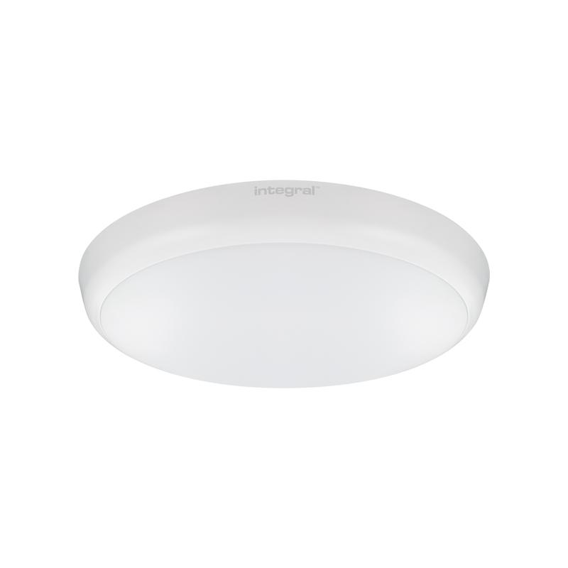Integral 12W Cool White LED Slimline Flush Light with