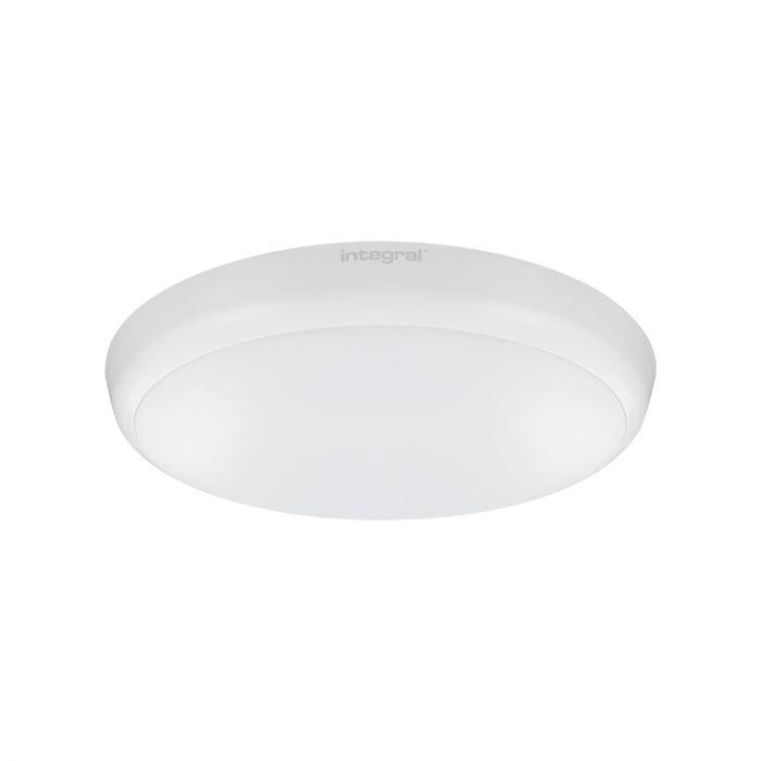 Integral 12W Cool White LED Emergency Slimline Flush Light