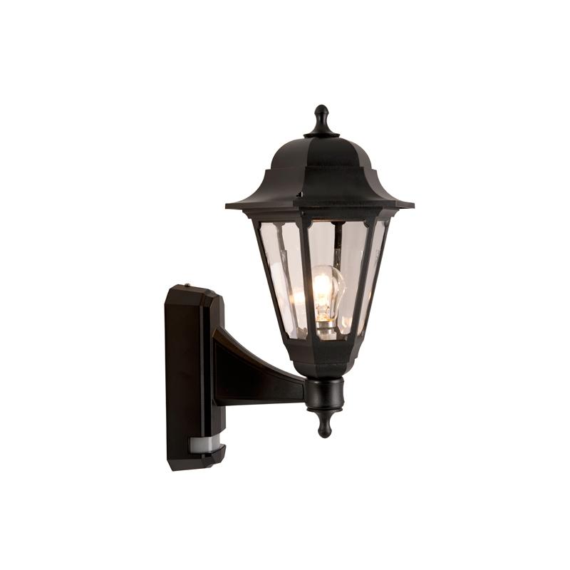 Wall Light Pir Sensor : ASD Coach Outdoor Lantern Wall Light with PIR Sensor ASD LycoUK - Furniture Online