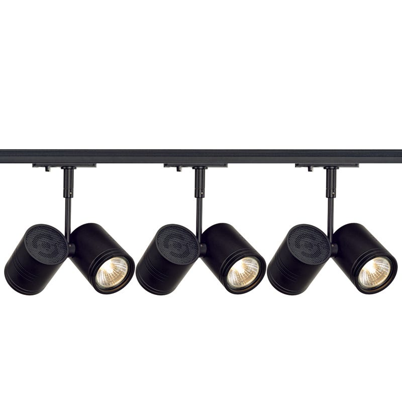 sale on slv bima 2 3 light and 1 circuit track light kit black