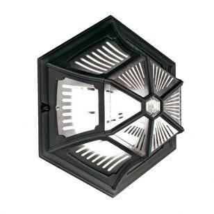 Elstead Parish Outdoor Wall Light - Black