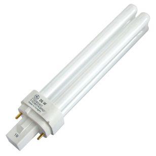 GE 26W White 2 Pin Biax-D G24D-3 Low Energy Bulb