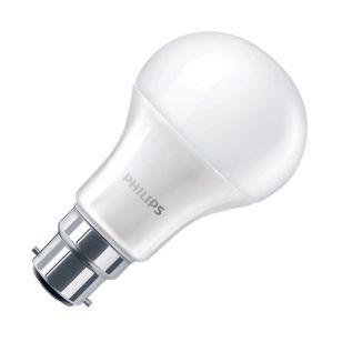 Philips 5.5W Corepro Warm White LED GLS Bulb - Bayonet Cap