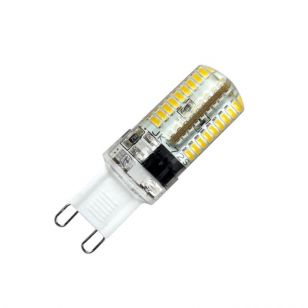 Knightsbridge 4W Cool White Dimmable LED Clear G9 Capsule