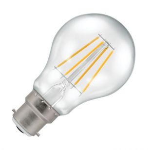 Crompton 5W Warm White Dimmable LED Decorative Filament GLS Bulb - Bayonet Cap