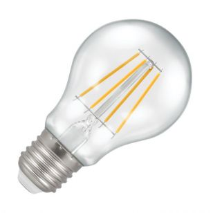 Crompton 5W Warm White Dimmable LED Decorative Filament GLS Bulb - Screw Cap