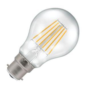 Crompton 7.5W Warm White Dimmable LED Decorative Filament GLS Bulb - Bayonet Cap
