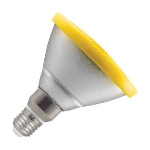 Crompton 13W Yellow LED PAR 38 Reflector Bulb - Screw Cap