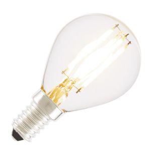 Tagra 4W Warm White Dimmable LED Decorative Filament Golf Ball Bulb - Small Screw Cap