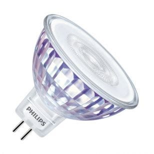 Philips Master Value LEDspot 5.5W Warm White Dimmable LED MR16 Bulb - Flood Beam