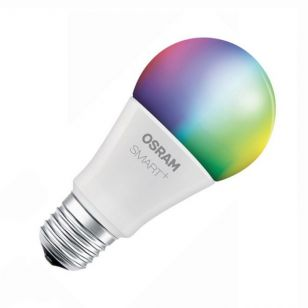 Osram Smart+ Apple Home Kit 10W White and Colour Changing LED WiFi GLS Bulb - Screw Cap