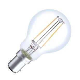 Integral 2W Warm White LED Decorative Filament Golf Ball Bulb - Small Bayonet Cap