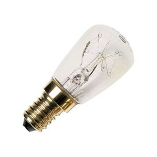 15W Clear Pygmy Bulb - S.Screw