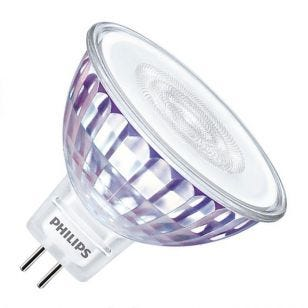 Philips Master LEDspot 5.5W Warm White Dimmable LED MR16 Bulb - Flood Beam