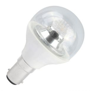 Bell 4W Warm White Dimmable LED Clear Golf Ball Bulb - Small Bayonet Cap