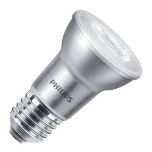 Philips Master LEDspot 6W Warm White Dimmable LED PAR20 Reflector Bulb - Medium Beam