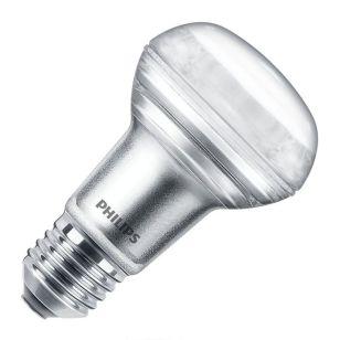 Philips Corepro 3W Warm White LED R63 Reflector Bulb - Screw Cap - Flood Beam