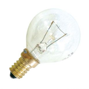 40W Clear Oven Bulb - S.Screw