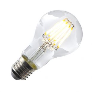 Tagra 4W Warm White Dimmable LED Curved Decorative Filament GLS Bulb - Screw Cap