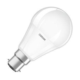Osram 8.5W Warm White LED GLS Bulb - Bayonet Cap - Pack of 4