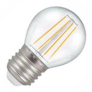 Crompton 5W Warm White Dimmable LED Decorative Filament Golf Ball Bulb - Screw Cap