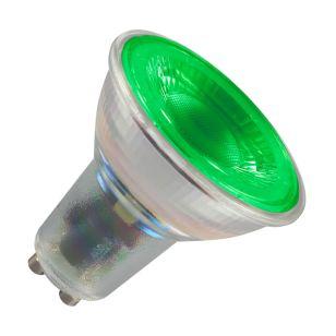 Crompton 4.5W Green LED GU10 Bulb - Flood Beam