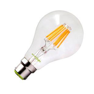 Envirolight 10W Warm White LED Decorative Filament GLS Bulb - Bayonet Cap