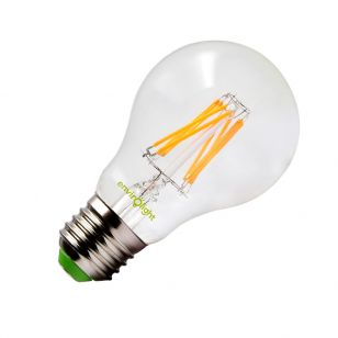 Envirolight 8W Warm White LED Decroative Filament GLS Bulb - Screw Cap