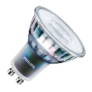 Philips MasterLED Expert Colour 5.5W Cool White Dimmable LED GU10 Bulb - Flood Beam