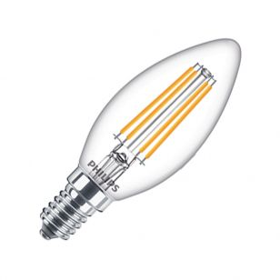 Philips LED Classic 6.5W Warm White Dimmable Decorative Filament Candle Bulb - Small Screw Cap