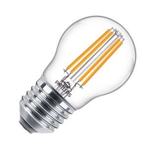 Philips Classic 6.5W Warm White Dimmable LED Decorative Filament Golfball Bulb - Screw Cap