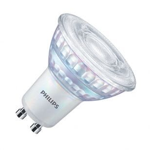 Philips MasterValue 6.2W Cool White Dimmable LED GU10 Bulb - 120 ° Beam
