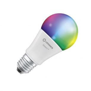 Ledvance Smart+ 9W White and Colour Selectable LED Dimmable Bluetooth GLS Bulb  - Screw Cap