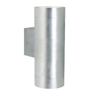 Nordlux Castor Maxi Outdoor Up & Down Wall Light - Galvanised Steel