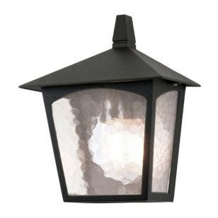 Elstead York Half Lantern Outdoor Wall Light