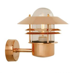 Nordlux Blokhus Copper Outdoor Wall Light