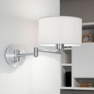 Eglo Halva Swing Arm Wall Light